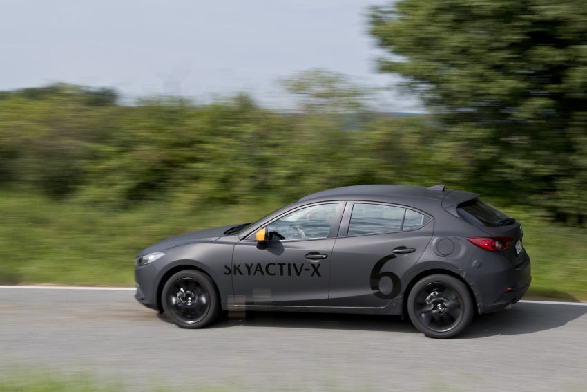 Mazda releases more details of new SkyActiv-X engine with compression ignition, next-gen Mazda 3 platform Image #707148
