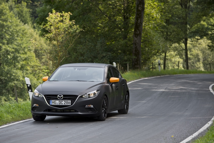 Mazda releases more details of new SkyActiv-X engine with compression ignition, next-gen Mazda 3 platform Image #707149