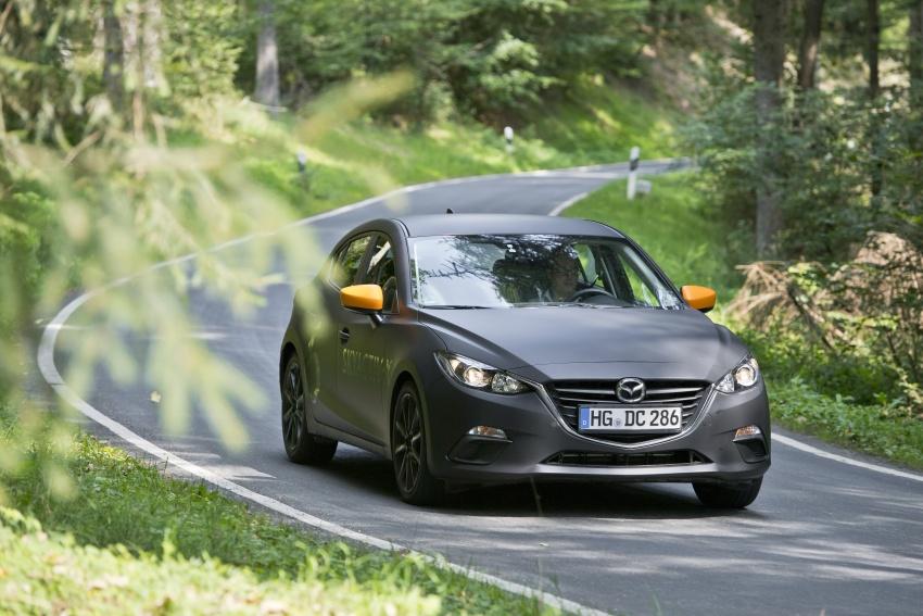 Mazda releases more details of new SkyActiv-X engine with compression ignition, next-gen Mazda 3 platform Image #707150