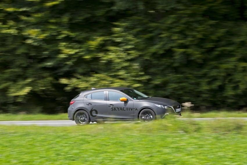 Mazda releases more details of new SkyActiv-X engine with compression ignition, next-gen Mazda 3 platform Image #707151