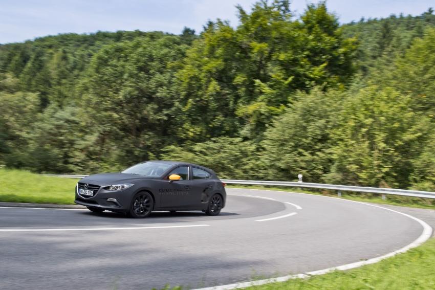 Mazda releases more details of new SkyActiv-X engine with compression ignition, next-gen Mazda 3 platform Image #707154