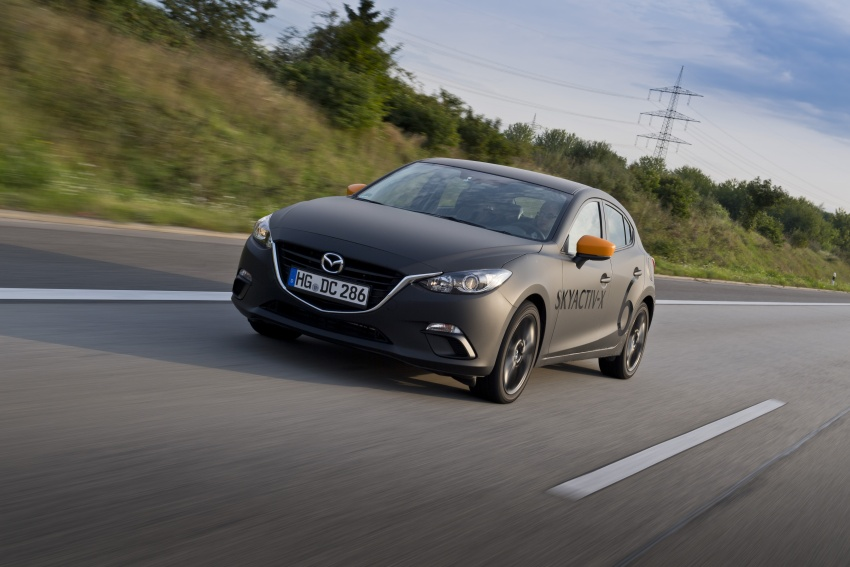 Mazda releases more details of new SkyActiv-X engine with compression ignition, next-gen Mazda 3 platform Image #707155
