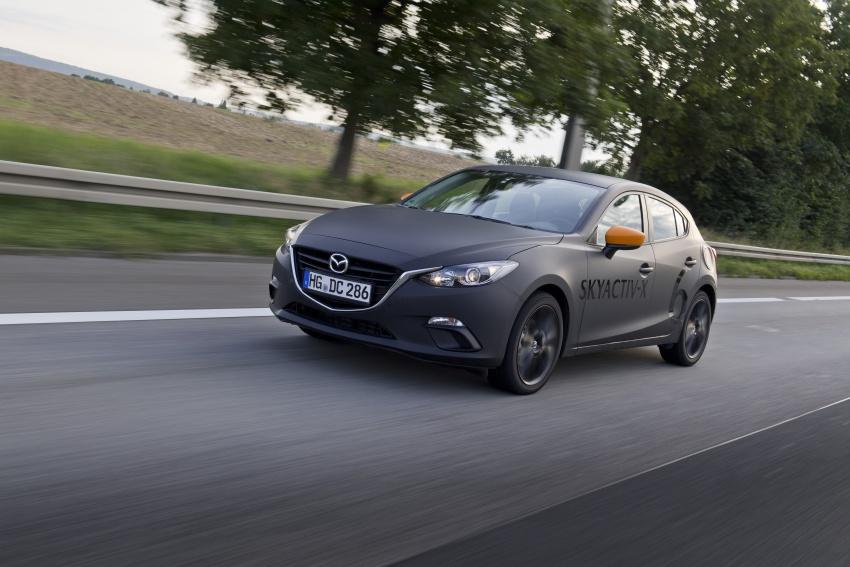 Mazda releases more details of new SkyActiv-X engine with compression ignition, next-gen Mazda 3 platform Image #707121