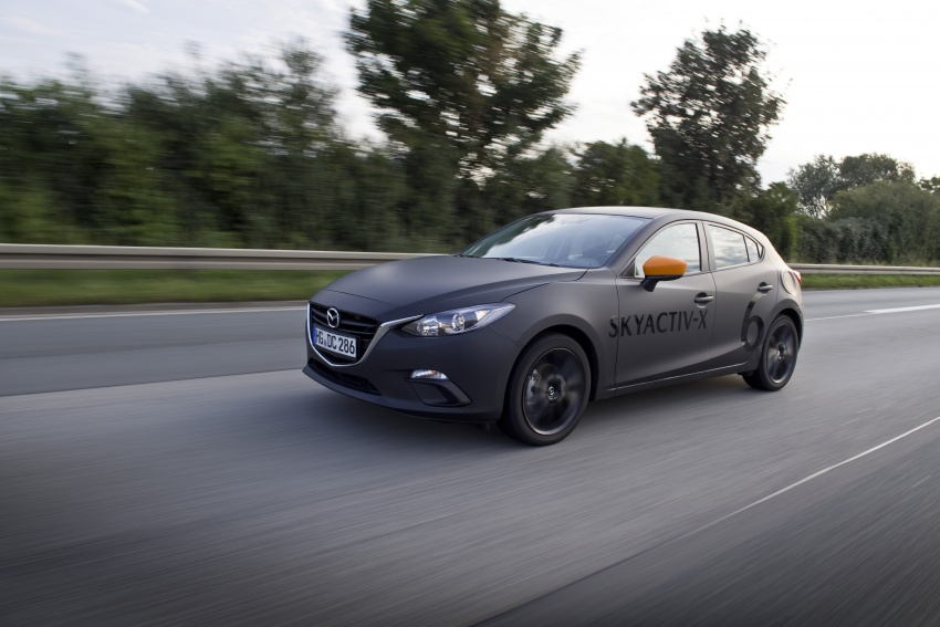 Mazda releases more details of new SkyActiv-X engine with compression ignition, next-gen Mazda 3 platform Image #707122