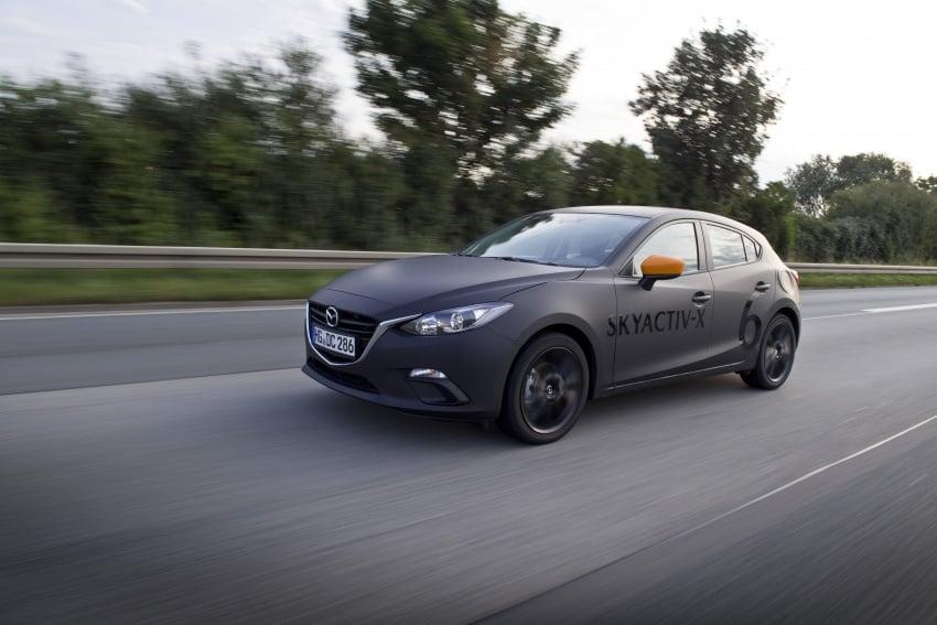 Mazda releases more details of new SkyActiv-X engine with compression ignition, next-gen Mazda 3 platform Image #707122