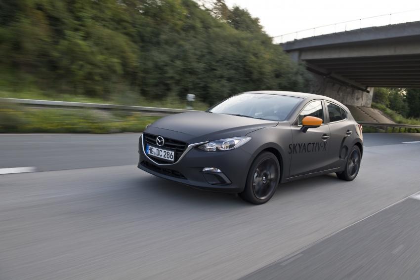 Mazda releases more details of new SkyActiv-X engine with compression ignition, next-gen Mazda 3 platform Image #707123
