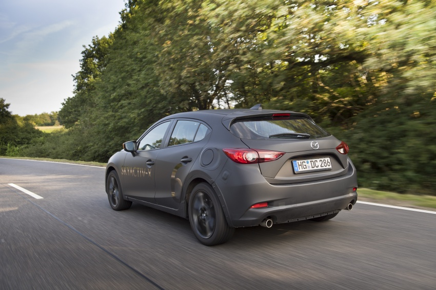 Mazda releases more details of new SkyActiv-X engine with compression ignition, next-gen Mazda 3 platform Image #707126