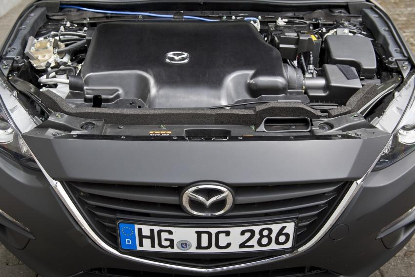 Mazda releases more details of new SkyActiv-X engine with compression ignition, next-gen Mazda 3 platform Image #707157