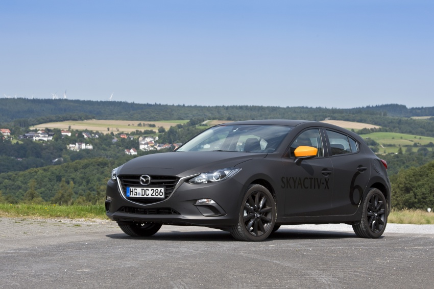 Mazda releases more details of new SkyActiv-X engine with compression ignition, next-gen Mazda 3 platform Image #707164