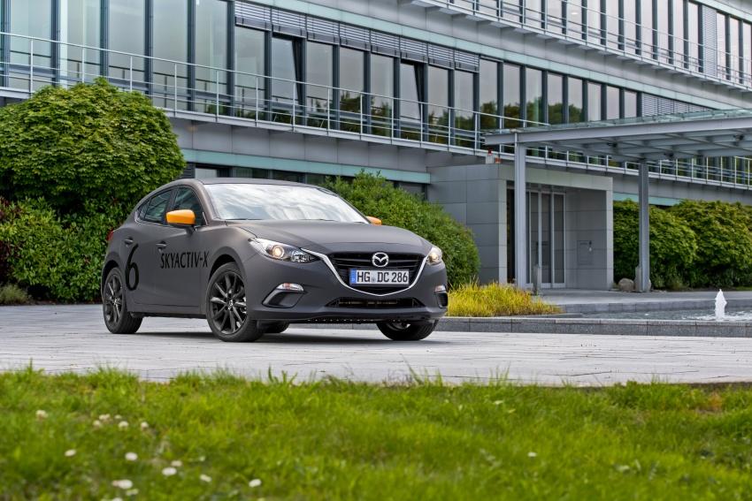 Mazda releases more details of new SkyActiv-X engine with compression ignition, next-gen Mazda 3 platform Image #707173
