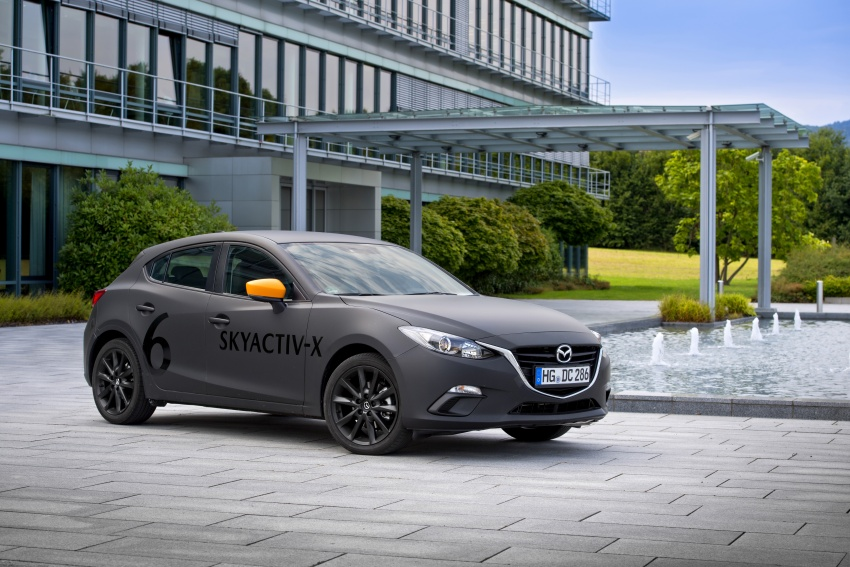 Mazda releases more details of new SkyActiv-X engine with compression ignition, next-gen Mazda 3 platform Image #707174