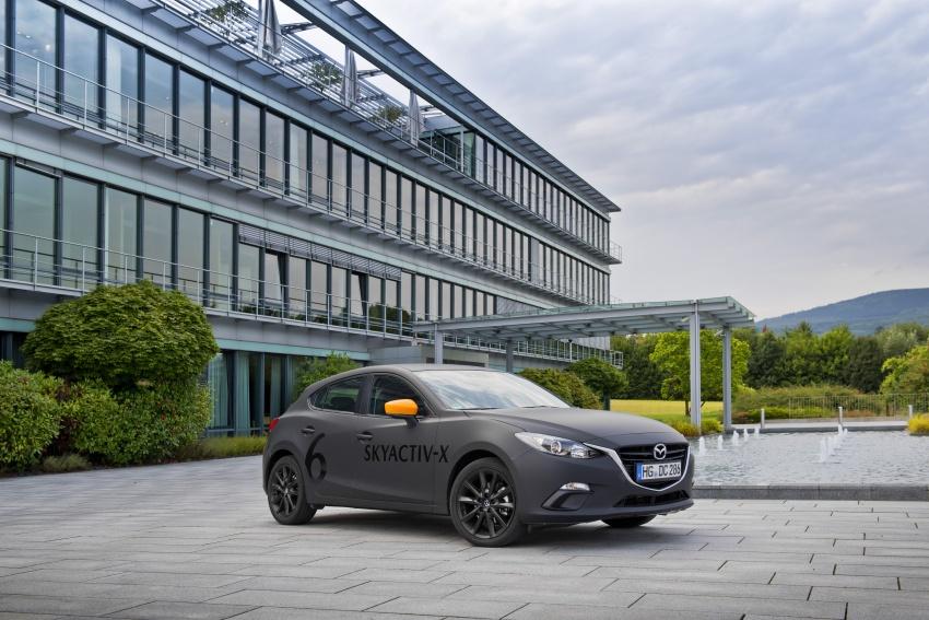 Mazda releases more details of new SkyActiv-X engine with compression ignition, next-gen Mazda 3 platform Image #707175
