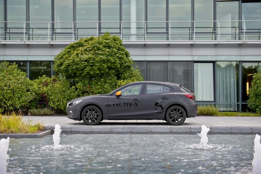 Mazda releases more details of new SkyActiv-X engine with compression ignition, next-gen Mazda 3 platform Image #707176