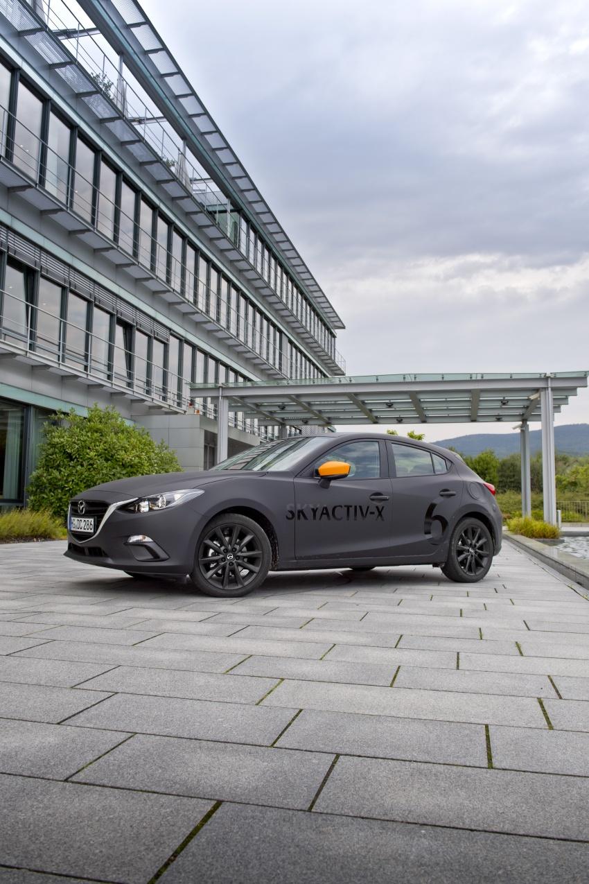 Mazda releases more details of new SkyActiv-X engine with compression ignition, next-gen Mazda 3 platform Image #707178