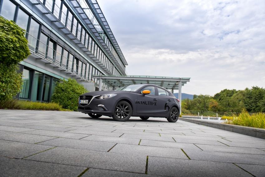 Mazda releases more details of new SkyActiv-X engine with compression ignition, next-gen Mazda 3 platform Image #707179