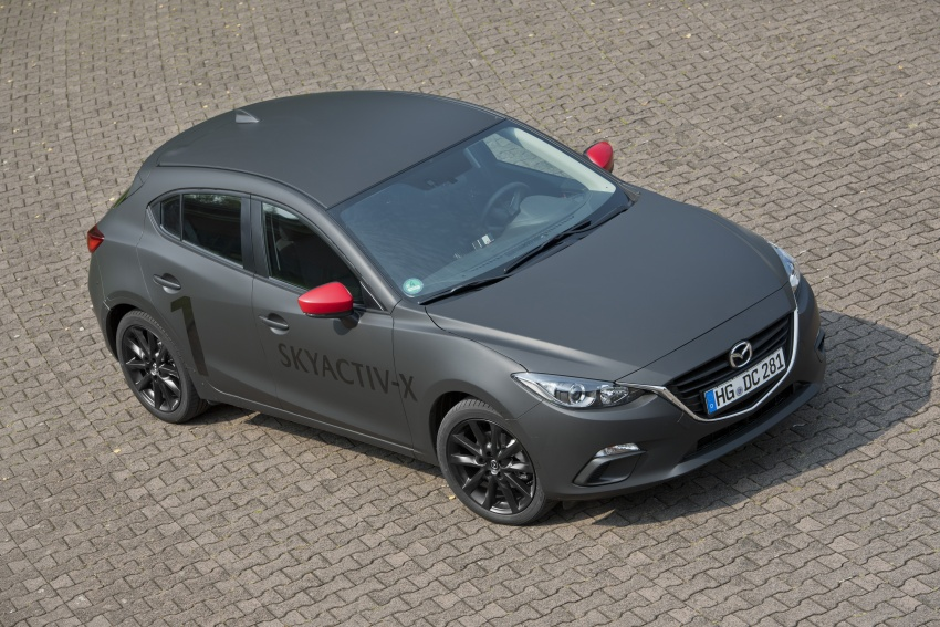 Mazda releases more details of new SkyActiv-X engine with compression ignition, next-gen Mazda 3 platform Image #707184