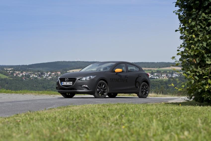 Mazda releases more details of new SkyActiv-X engine with compression ignition, next-gen Mazda 3 platform Image #707165
