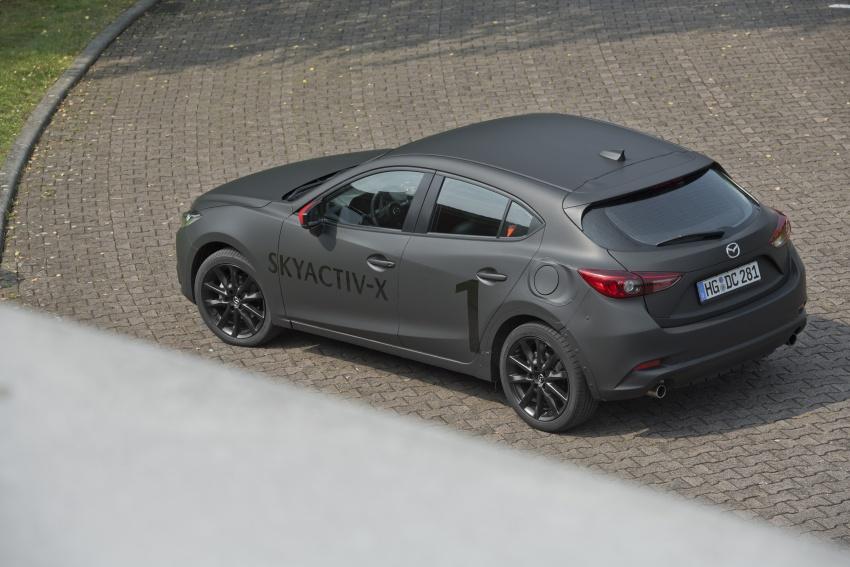 Mazda releases more details of new SkyActiv-X engine with compression ignition, next-gen Mazda 3 platform Image #707188