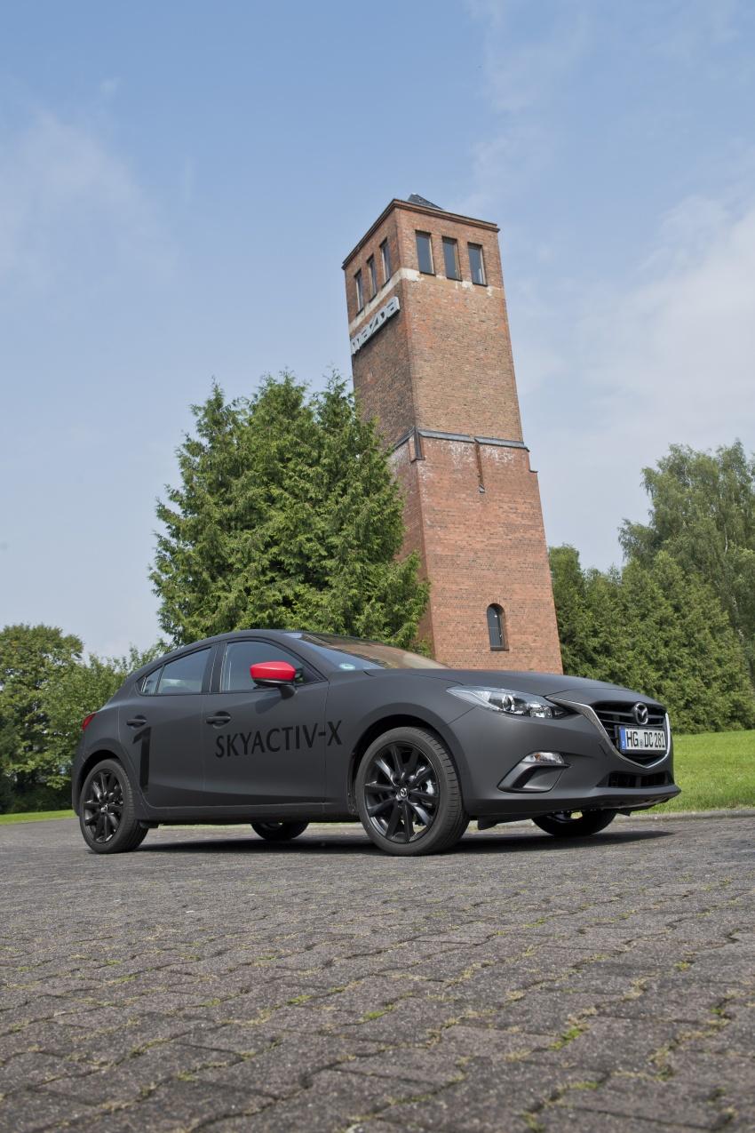 Mazda releases more details of new SkyActiv-X engine with compression ignition, next-gen Mazda 3 platform Image #707189