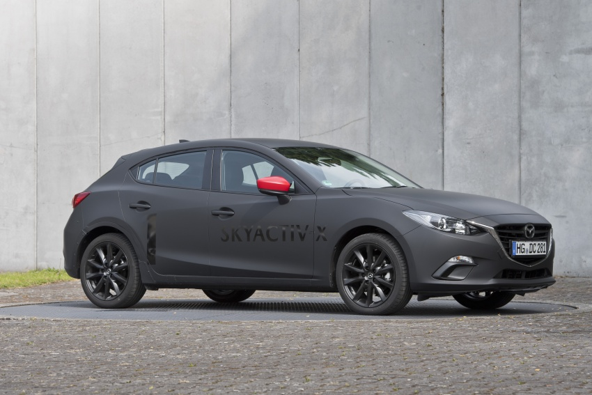 Mazda releases more details of new SkyActiv-X engine with compression ignition, next-gen Mazda 3 platform Image #707192