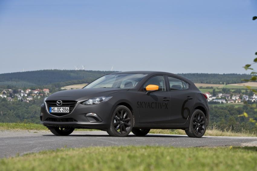 Mazda releases more details of new SkyActiv-X engine with compression ignition, next-gen Mazda 3 platform Image #707166