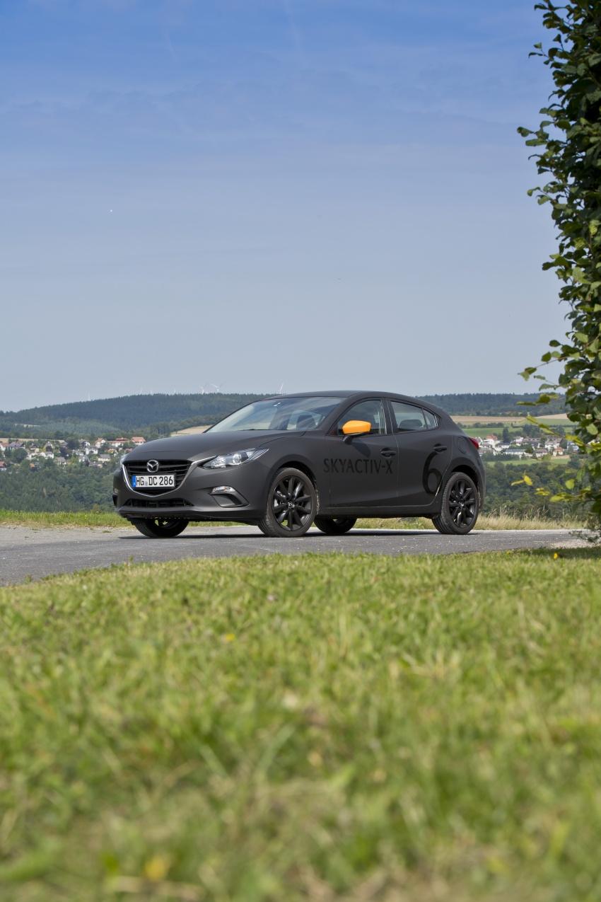 Mazda releases more details of new SkyActiv-X engine with compression ignition, next-gen Mazda 3 platform Image #707167