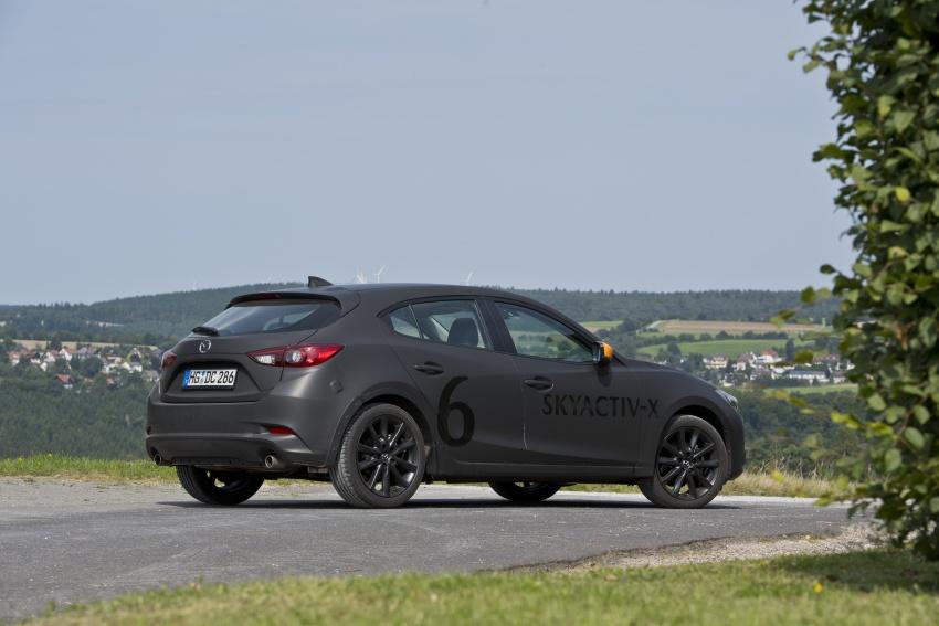 Mazda releases more details of new SkyActiv-X engine with compression ignition, next-gen Mazda 3 platform Image #707168