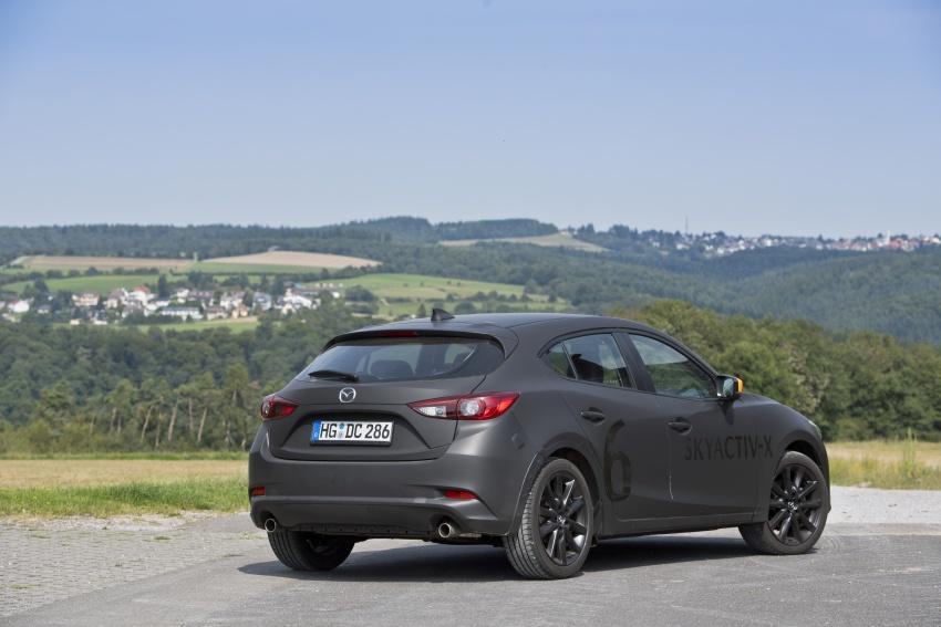 Mazda releases more details of new SkyActiv-X engine with compression ignition, next-gen Mazda 3 platform Image #707169