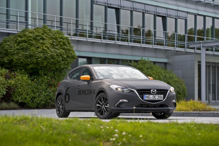 Mazda releases more details of new SkyActiv-X engine with compression ignition, next-gen Mazda 3 platform Image #707170