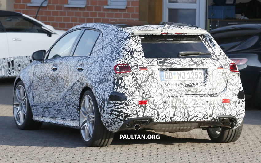 SPIED: 2018 Mercedes-AMG A45 looks ready to rumble Image #714053