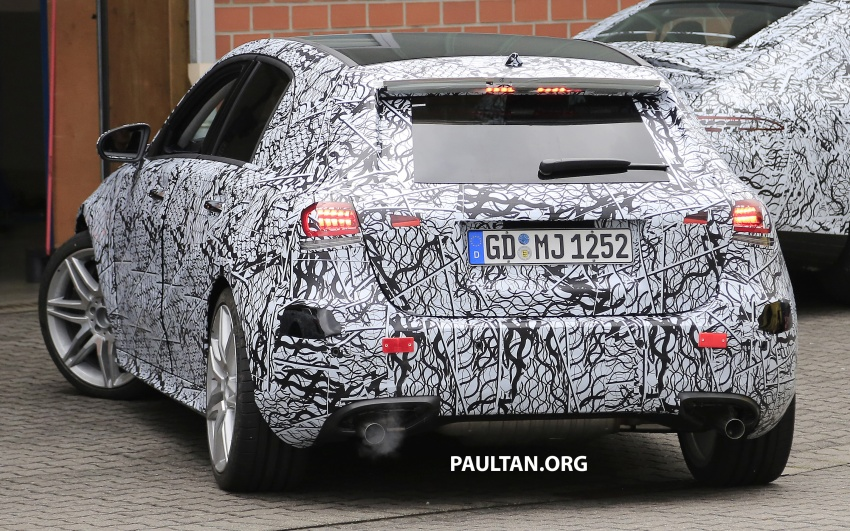 SPIED: 2018 Mercedes-AMG A45 looks ready to rumble Image #714065