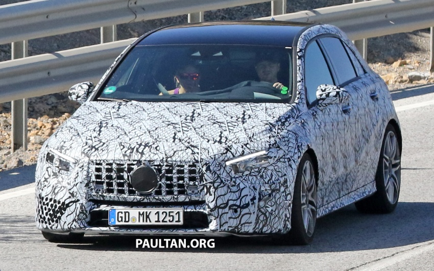 SPIED: 2018 Mercedes-AMG A45 looks ready to rumble Image #713721
