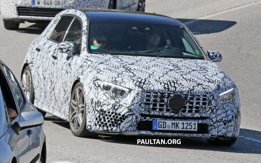 SPIED: 2018 Mercedes-AMG A45 looks ready to rumble Image #713722