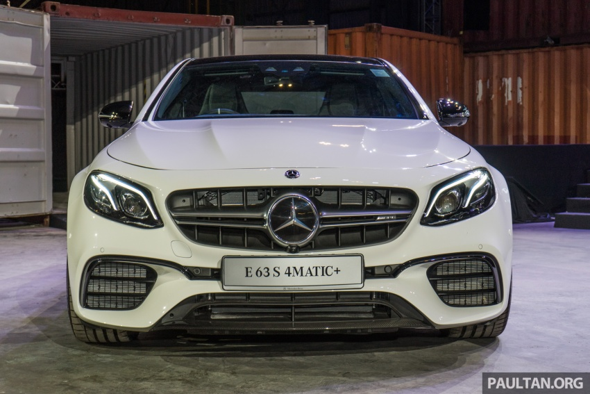 W213 Mercedes-AMG E63S 4Matic+ launched in Malaysia, from RM999k – Edition 1, RM1.09 million Image #715708