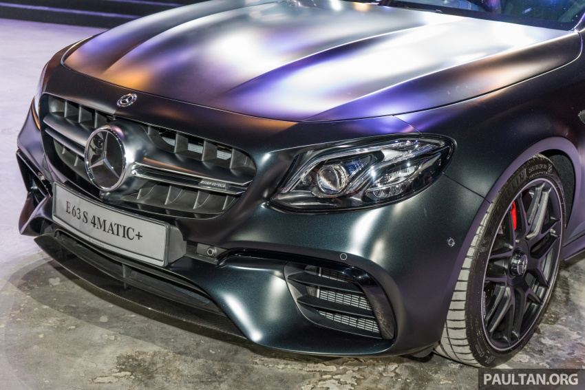 W213 Mercedes-AMG E63S 4Matic+ launched in Malaysia, from RM999k – Edition 1, RM1.09 million Image #715711