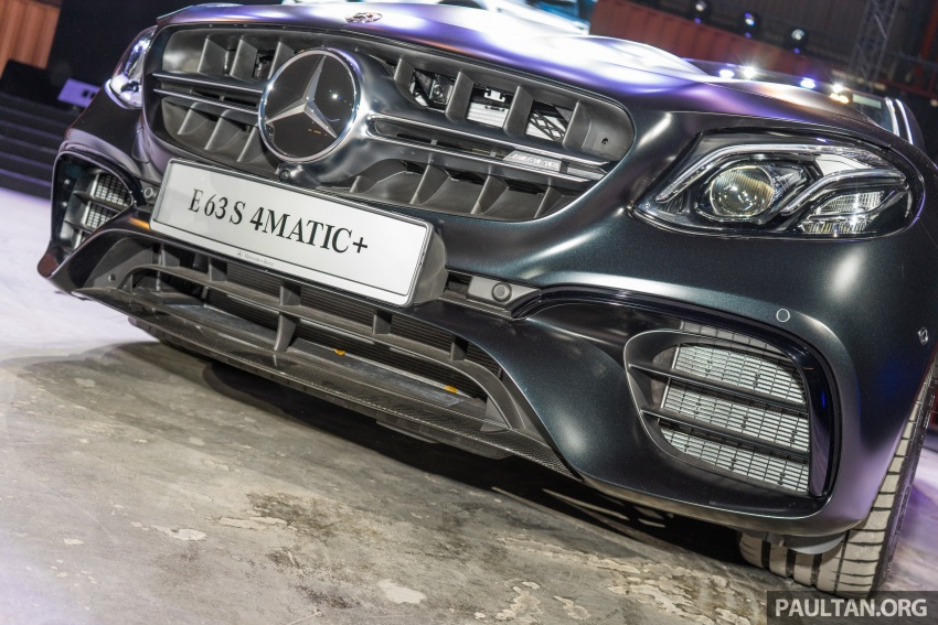 W213 Mercedes-AMG E63S 4Matic+ launched in Malaysia, from RM999k – Edition 1, RM1.09 million Image #715714