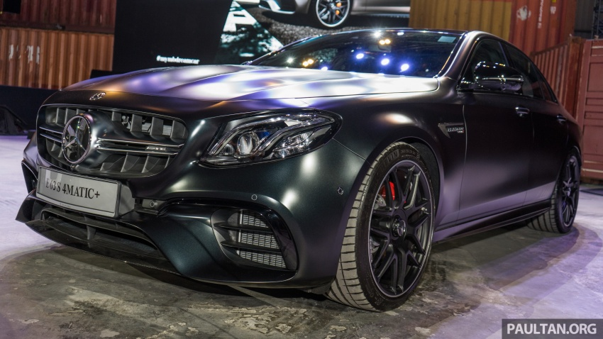 W213 Mercedes-AMG E63S 4Matic+ launched in Malaysia, from RM999k – Edition 1, RM1.09 million Image #715699