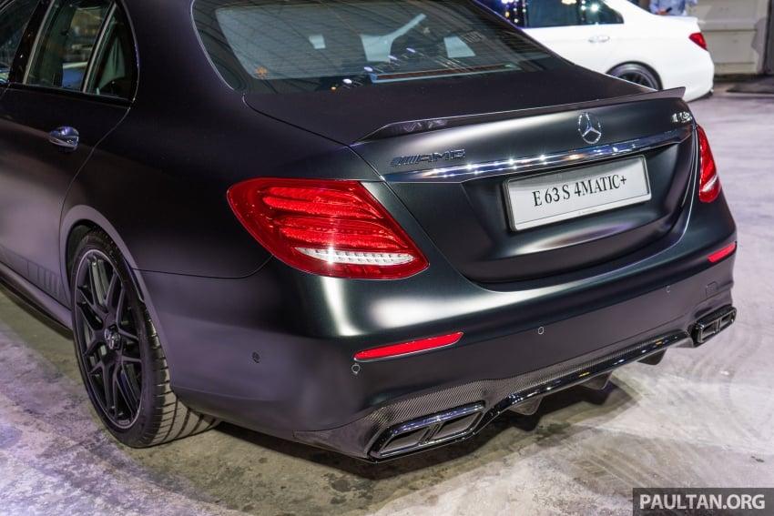 Mercedes-AMG E 63 S 4Matic+ kini di Malaysia – 4.0 liter V8 Twin Turbo, 612 hp/850 Nm, RM998,888 Image #715785