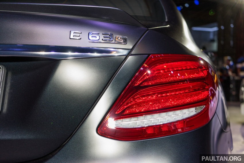 W213 Mercedes-AMG E63S 4Matic+ launched in Malaysia, from RM999k – Edition 1, RM1.09 million Image #715727