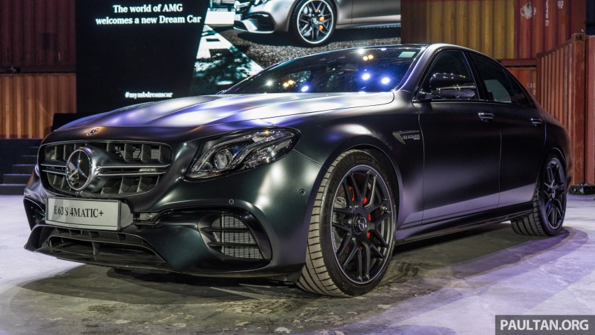 W213 Mercedes-AMG E63S 4Matic+ launched in Malaysia, from RM999k – Edition 1, RM1.09 million Image #715700