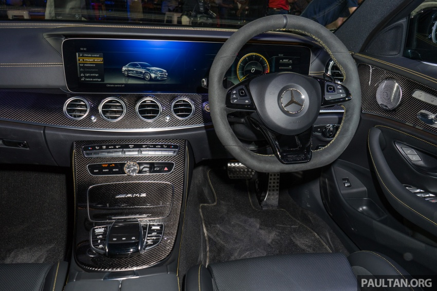 W213 Mercedes-AMG E63S 4Matic+ launched in Malaysia, from RM999k – Edition 1, RM1.09 million Image #715737