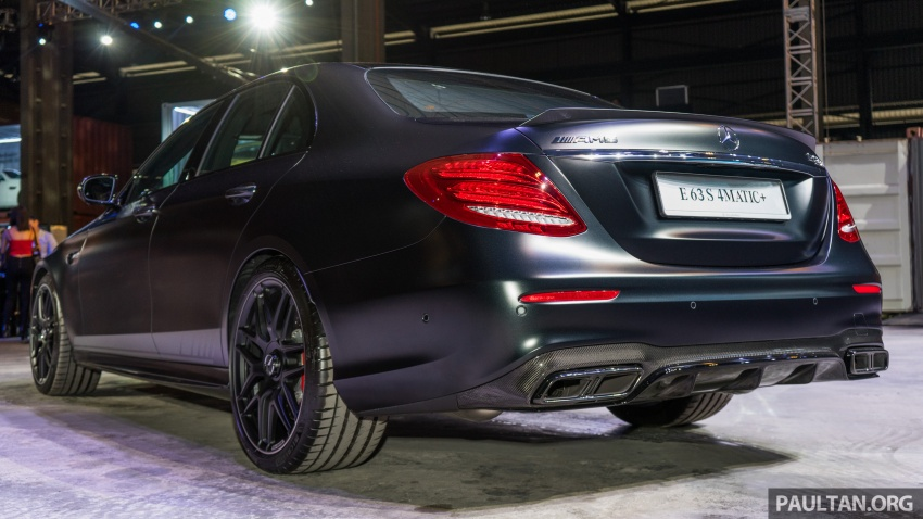 W213 Mercedes-AMG E63S 4Matic+ launched in Malaysia, from RM999k – Edition 1, RM1.09 million Image #715701