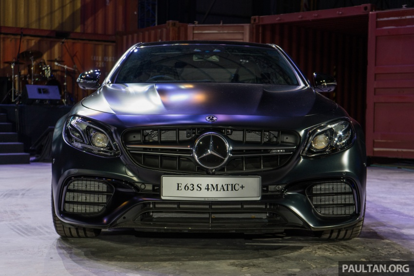 W213 Mercedes-AMG E63S 4Matic+ launched in Malaysia, from RM999k – Edition 1, RM1.09 million Image #715702