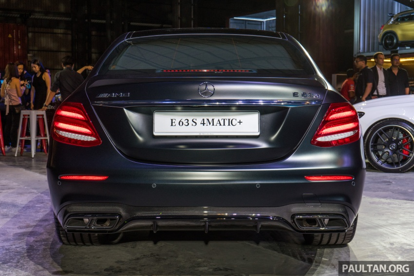W213 Mercedes-AMG E63S 4Matic+ launched in Malaysia, from RM999k – Edition 1, RM1.09 million Image #715703