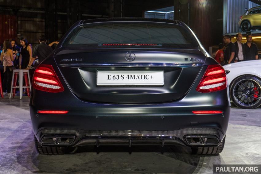 Mercedes-AMG E 63 S 4Matic+ kini di Malaysia – 4.0 liter V8 Twin Turbo, 612 hp/850 Nm, RM998,888 Image #715728