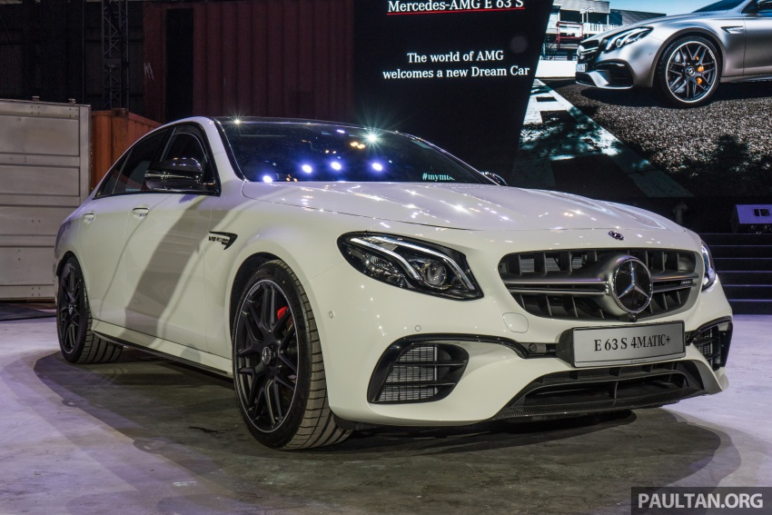 W213 Mercedes-AMG E63S 4Matic+ launched in Malaysia, from RM999k – Edition 1, RM1.09 million Image #715706