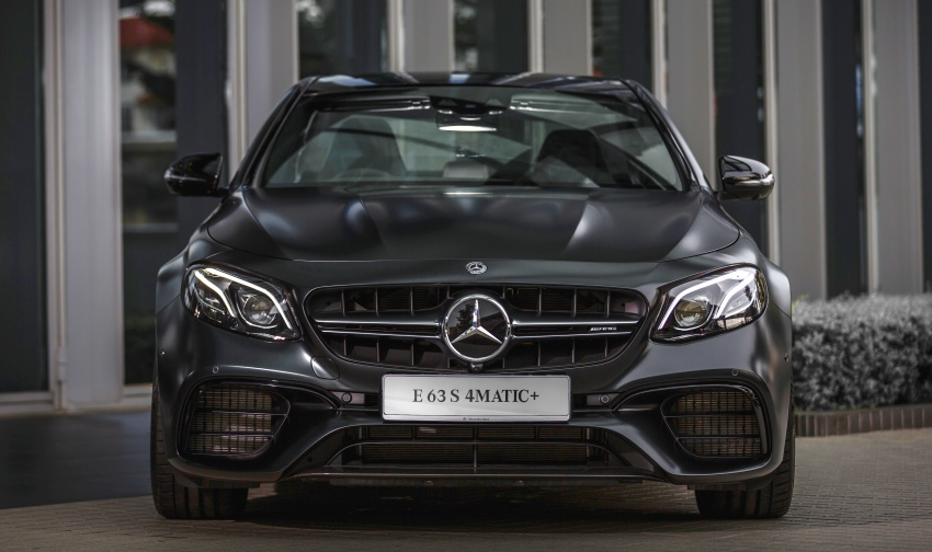 W213 Mercedes-AMG E63S 4Matic+ launched in Malaysia, from RM999k – Edition 1, RM1.09 million Image #715520