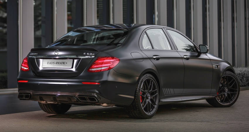 W213 Mercedes-AMG E63S 4Matic+ launched in Malaysia, from RM999k – Edition 1, RM1.09 million Image #715523