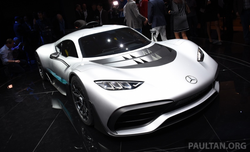 Mercedes-AMG Project One hypercar finally unveiled – sub-6 seconds 0-200 km/h, top speed over 350 km/h Image #708541