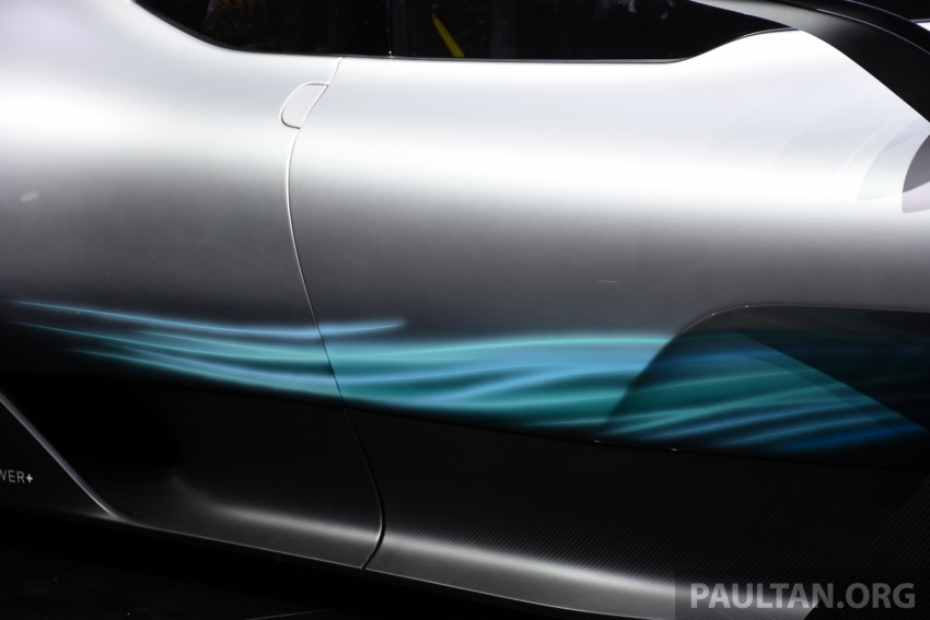 Mercedes-AMG Project One hypercar finally unveiled – sub-6 seconds 0-200 km/h, top speed over 350 km/h Image #708550